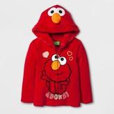 Sesame Street Toddler Girls' Elmo Sweatshirt - Red