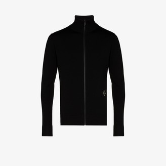 A-Cold-Wall* High-Neck Front-Zip Jumper
