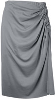 ASTRAET pleated skirt - women - Cotton - 0