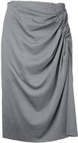 ASTRAET pleated skirt - women - Cotton - 1