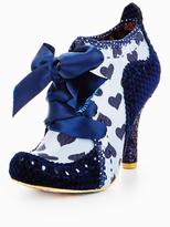 Irregular Choice Abigails 3rd Party Lace Up Shoe Boots - Blue