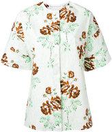 Victoria Beckham floral print T-shirt - women - Cotton - 10