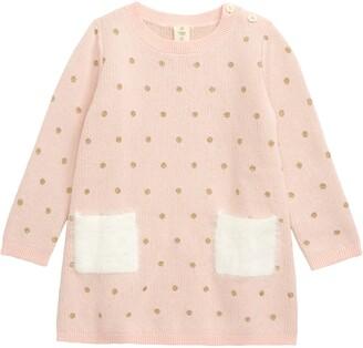 Tucker + Tate Fuzzy Pocket Sweater Dress