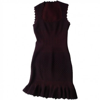 Alaia Burgundy Dress for Women
