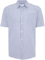 Soulland Lauridsen Regular Fit Seersucker Stripe Shirt