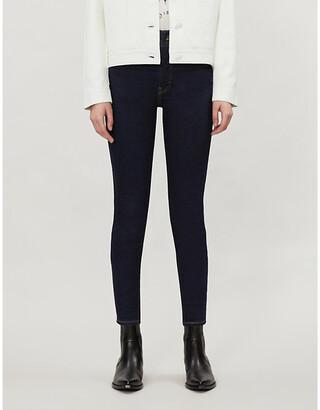 Levi's Mile High Ladies Blue Denim Super-Skinny -Rise Jeans, Size: 25