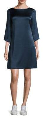 Diane von Furstenberg Korrey Solid Shift Dress