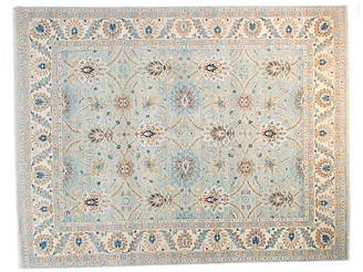 F.J. Kashanian 8'x10' Neva Rug - Aqua/Ivory