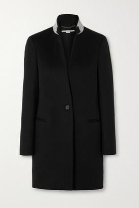 Stella McCartney Wool-felt Coat - Black