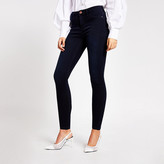 River Island Dark blue Molly mid rise jeggings
