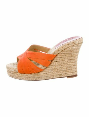 Christian Louboutin Espadrilles Orange