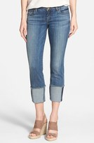 KUT from the Kloth Wide Cuff Boyfriend Jeans (Fervent)
