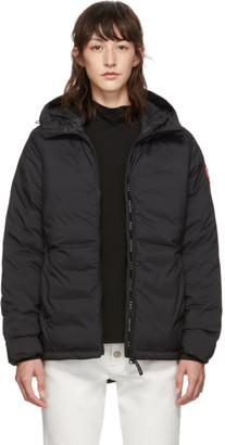 Canada Goose Black Camp Hoody Jacket