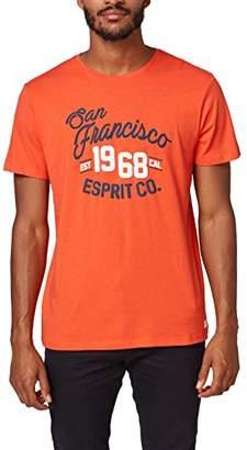 Esprit Men's 078ee2k008 T-Shirt,Medium