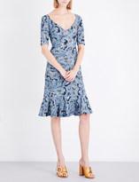Erdem Paisley Vine-printed crepe-jersey dress