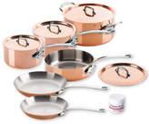 Mauviel M'heritage 150s Copper 10-Piece Set