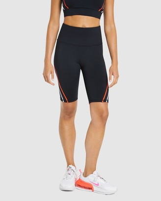Rockwear - Women's Black 1/2 Tights - Velocity Seam Bike Shorts - Size One Size, 6 at The Iconic