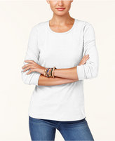 Style&Co. Style & Co Scoop-Neck Top, Created for Macy's