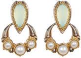 Konstantino Amphitrite Sterling Silver & 18K Gold 3-5mm Pearl & Faceted Agate Drop Earrings