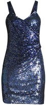 Georgia Sequined Mini Dress