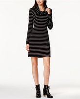 Maison Jules Striped Cowl-Neck Dress, Created for Macy's