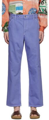 Jacquemus Blue Le De Nimes Jeans