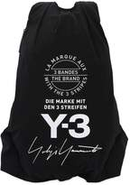 Y-3 Logo Printed Nylon Backpack