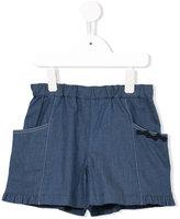 Familiar elasticated waist shorts - kids - Cotton/Polyurethane - 6 yrs