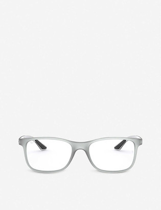 Ray-Ban RX8903 acetate and carbon eyeglasses