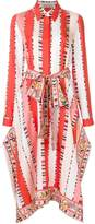 Emilio Pucci printed shirt kaftan dress