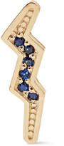 Andrea Fohrman 14-karat Gold Sapphire Earring