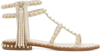Ash Pareo flat leather sandals