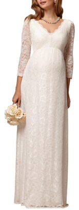 Chloé Lace Maternity Gown