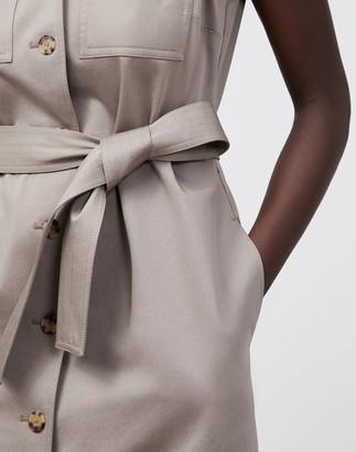 Lafayette 148 New York Sonny Dress In Skylight Cotton