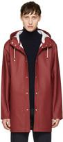 Stutterheim Burgundy Stockholm Raincoat