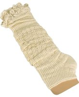 Ninimour- Women's Winter Knit Crochet Leg Warmers Legging
