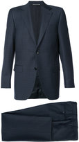 Canali checked suit
