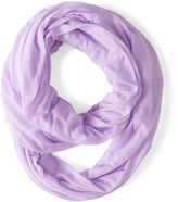Start with the Basics Circle Scarf in Lilac