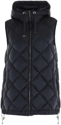 Max Mara The Cube Quilted Hooded Vest