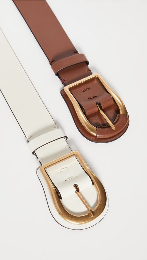 Thumbnail for your product : Zimmermann Wide Leather Belt
