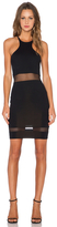 Donna Mizani Racer Front Mini In Black