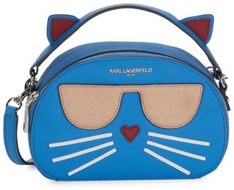 Karl Lagerfeld Paris Maybelle Choupette Cat Top-Handle Bag