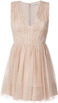 Alice + Olivia Alice+Olivia - spotted mini dress - women - Polyester/Spandex/Elastane - 0