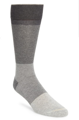 Nordstrom Grey Block Socks