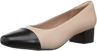 Clarks Women's Chartli Diva Block Heel Shoe