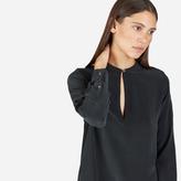 Everlane The Silk Split-Neck Shirt