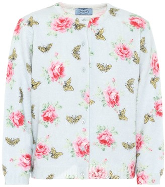 Prada Floral cardigan