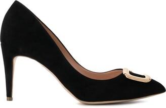 Rupert Sanderson heeled embellished pumps