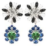 Miu Miu Embellished Clip-on Earrings