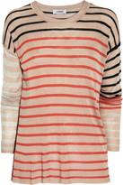 Sonia Rykiel Sonia by Striped fine-knit sweater